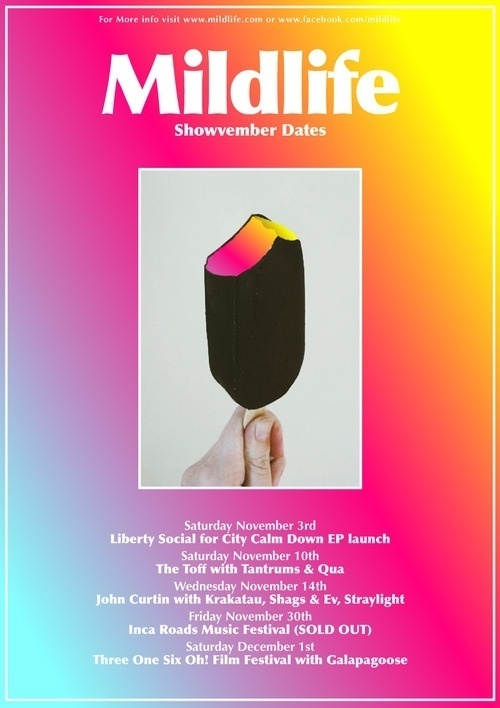 Mildlife #poster #layout #photography #color #gradient