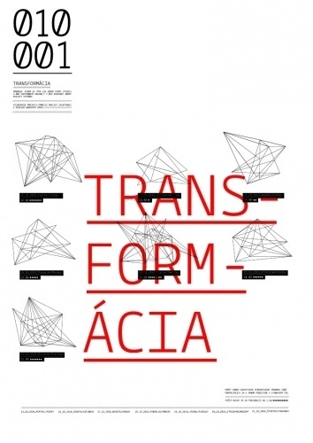 Transform / Generate the object in real time #geometry #geometric #poster
