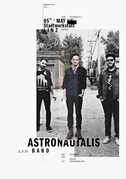 Astronautalis — Poster #austria #ortner #gothic #franklin #poster #astronautalis #exposed #woifi