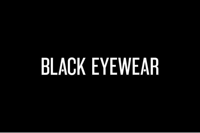Black Eyewear - StudioMakgill #logo #black