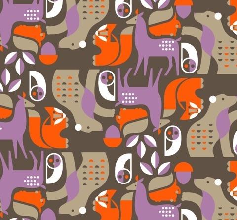 Animal Illustration - Pushmepullyou Design Blog #illustration #animals