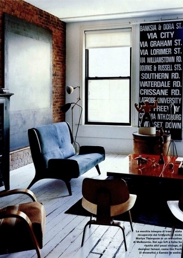 tumblr_kvyloasfdG1qzgf8eo1_500.jpg (JPEG Image, 497x700 pixels) #interior #wood #brick #warm