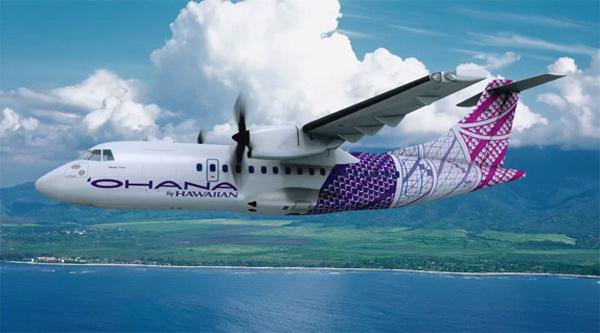 Ohana by Hawaiian livery design #branding #design #ohana #livery #hawaii #plane