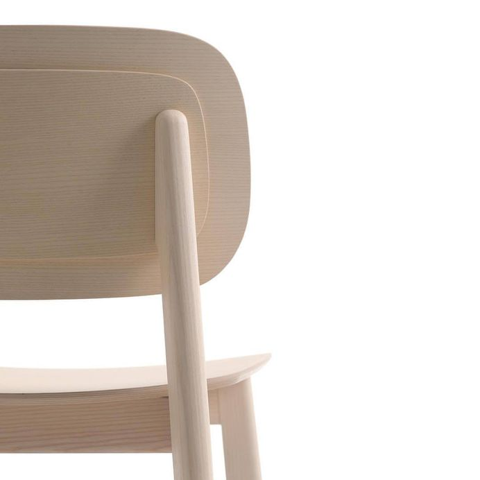"""architonicag: """" Ally 110.1 by Softline - 1979 Nordic design chair with solid ash frame, seat and back in shaped multilayer. Available in various finishes. Manufacturer: Softline - 1979 Designer: Michele..."""