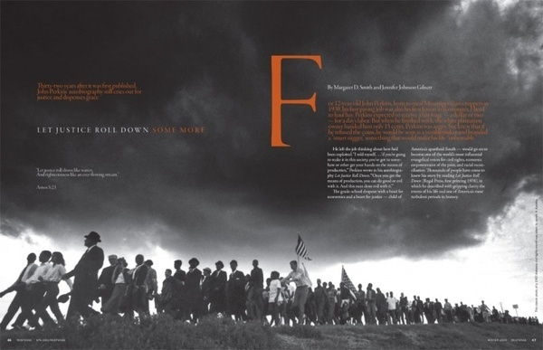Let Justice Roll Down - RK Design #layout #design #editorial