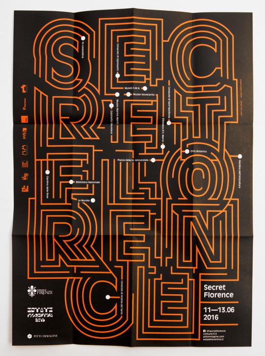 Secret Florence by Muttnik #typography