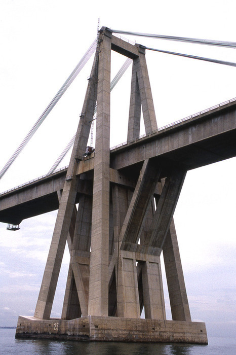 Drop Anchors #bridge #architecture #concrete