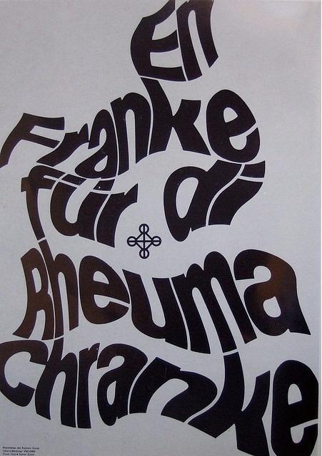 Gérard Miedinger (1964) #poster #typography
