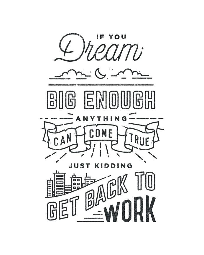 Dream_dribbble_lg #line drawing