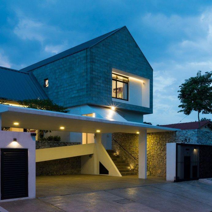 Semi-Detached Modern House in Malaysia, Fabian Tan Architect 15