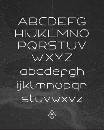 ANCHOR FONT - Typography - Creattica #type #typeface #typography