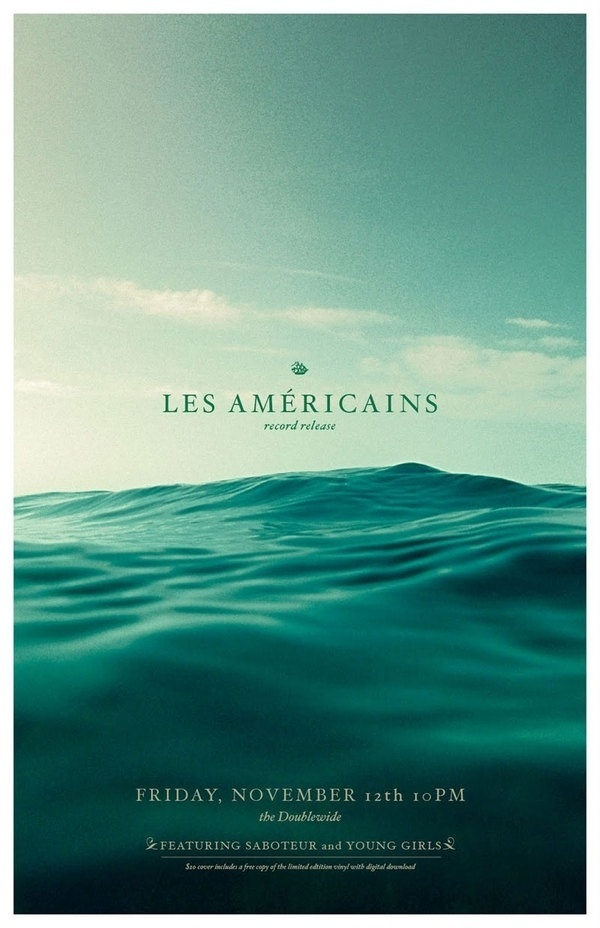 Graphic-ExchanGE - a selection of graphic projects #les #water #photo #record #americians #anchor #aqua