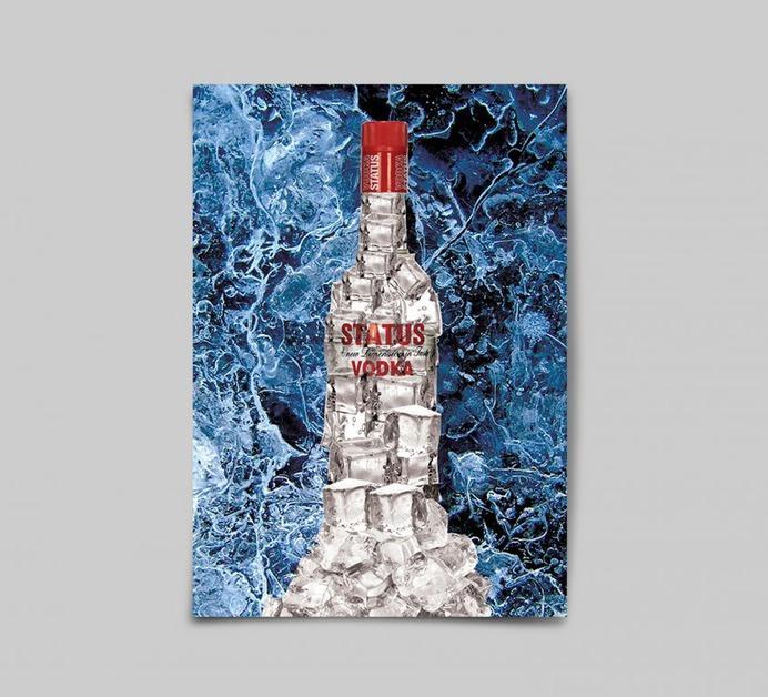 Status Vodka Advertising