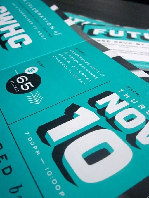 Print design inspiration | From up North #type #print #teal