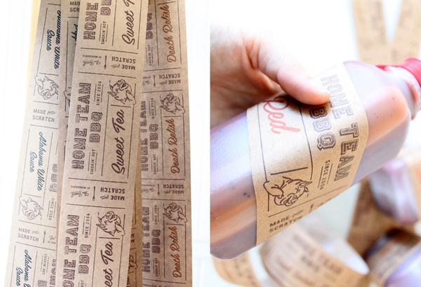 kraft packaging tape// HometeamBBQ5 #packaging