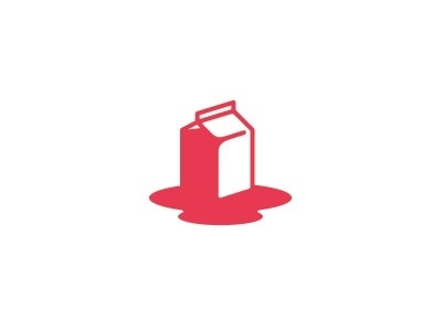 Carton_nosplashes #icon #spilled #milk #vector