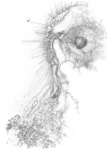 Scrapbook #plan #flow #vesuvius #lava #san #sebastiano #volcano #keir