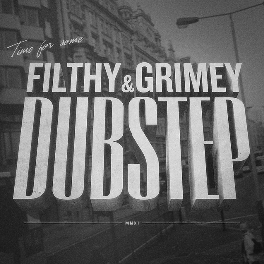 All sizes | Filthy & Grimey | Flickr - Photo Sharing! #film #classic #vintage #typography