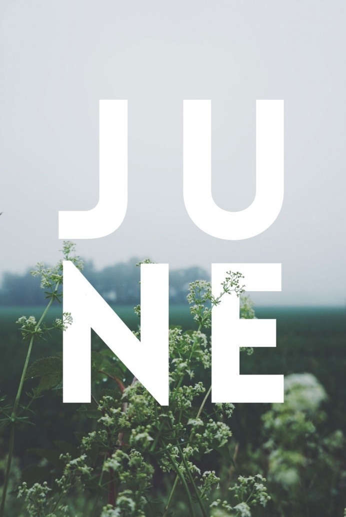 JUNE / Typography
