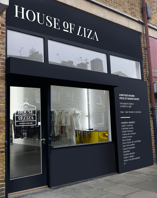 House of Liza / 2012 on Behance #store #branding #storefront