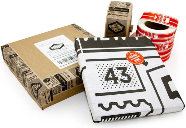 Quarterly co by OAK #packaging