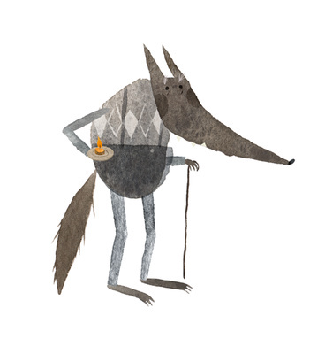 #illustration #animation #wolf Clementine Robach, La Soupe au Caillou
