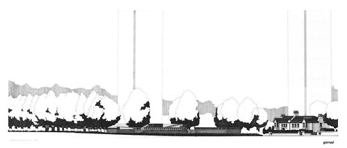 Drawing ARCHITECTURE #renderings #drawings #sections #architecture