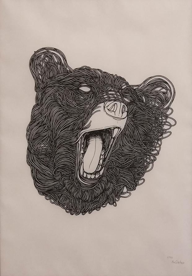 Max Gartner paper illustration #paper #illustration #animals