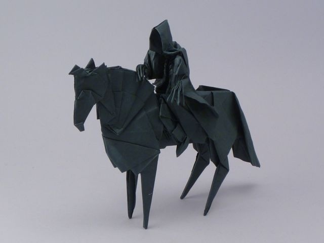 Terrifying Lord of the Rings Origami — My Modern Met #origami #art