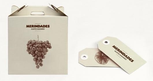 Merindades | Gusto Navarro | Olga Llopis #packaging #type #branding #logo