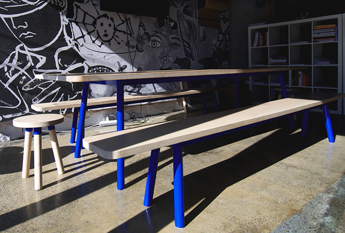 Angle by Studio SP–GD #design #bench #table