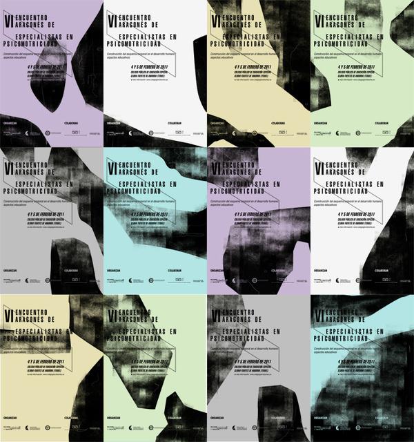 Psicomotricidad Andorra #modular #event #monochrome #engraving #system #colors #poster #logo #layout #pastel