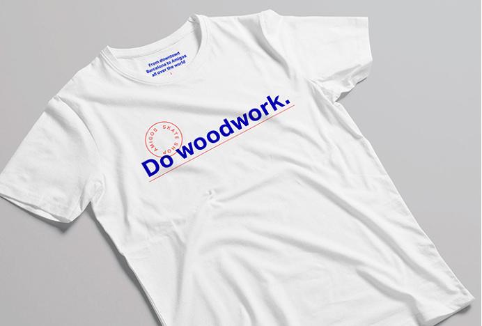 Amigos Skate Shop by Jorge León #graphic design #print #tshirt