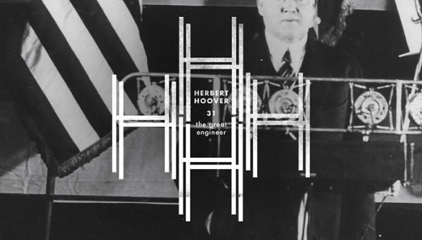 Branding the Presidents of the United States #america #design #american #hoover #president #logo #usa