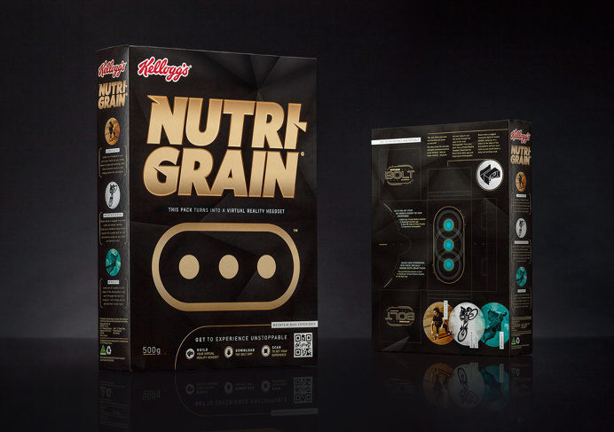 packaging, cereal, headset