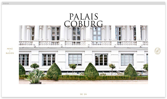 Palais-coburg on WOW-WEB #drink #responsive #design #food #restaurant #website #hotel #web