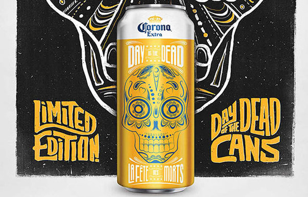 dayofthedeadcorona #packaging #beer #can