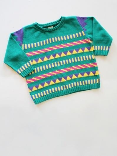 Sticker Stripe Box Top : #pattern #apparel