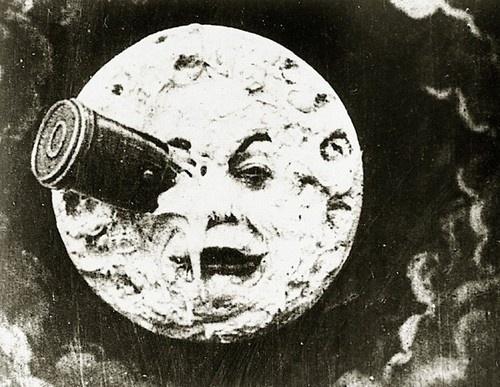 MoMA | The Collection | Georges Méliès. A Trip to the Moon (Le Voyage dans la lune). 1902 #vintage #texture #film