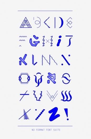 Ashlea O'Neill / No Format #typography