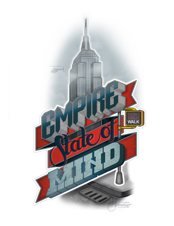 Empire State of Mind by ~suqer on deviantART #new #quote #york #typography