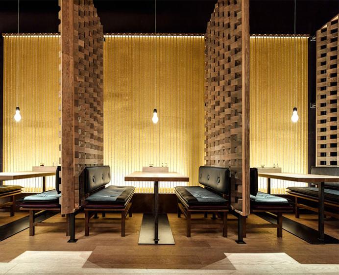 GinYuu Concept Restaurant in Stuttgart - #restaurant, #decor, #interior,