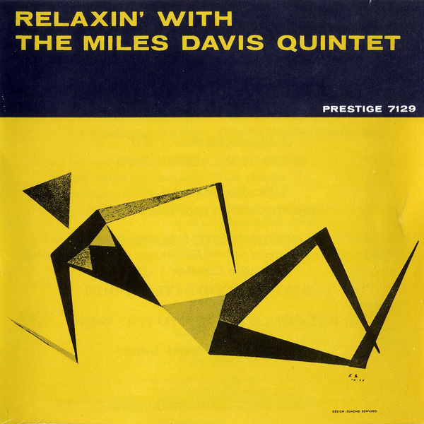 Relaxin' With The Miles Davis Quintet #album #miles #davis #jazz #illustration #music