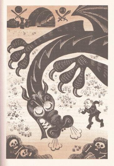 7.gif (599×866) #russian #soviet #illustration #vintage #hobbit