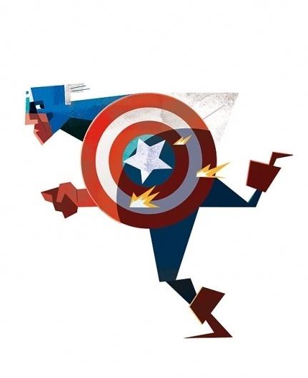 Captain_America.jpg.scaled1000.jpg (551×677) #super #captain #hero #illustration #america