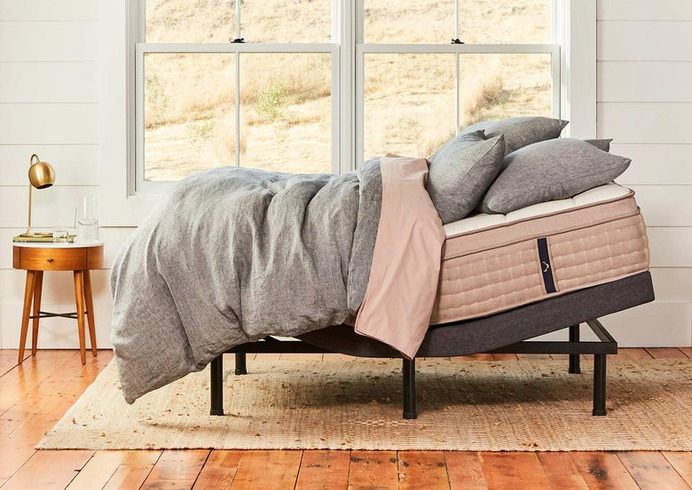dreamcloud's luxurious adjustable bed frame