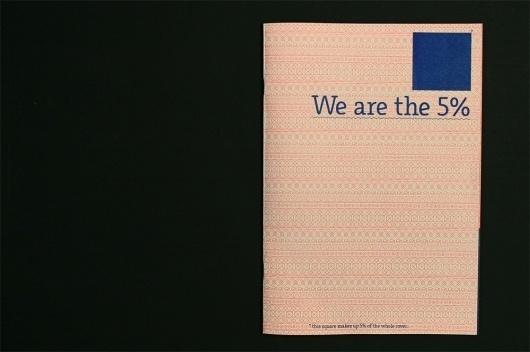 Thezu__We are the 5% #design #zine