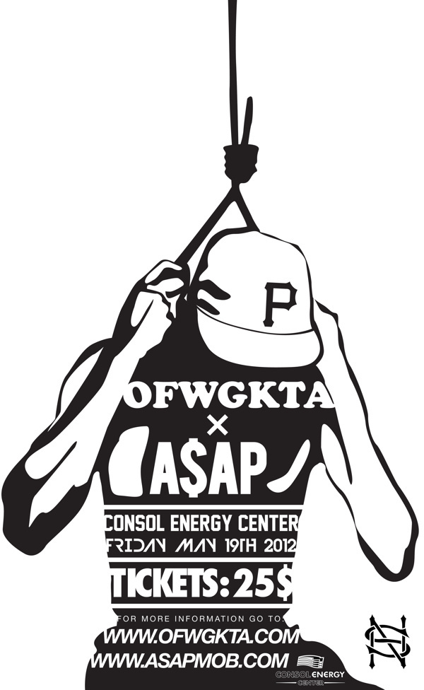 A$AP X OFWGKTA Posters