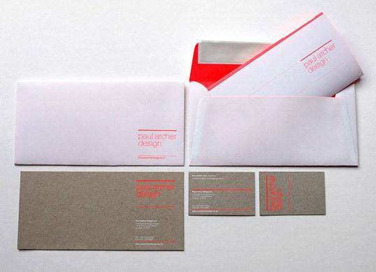 lovely stationery paul archer design4 #letterhead #identity #branding #stationery