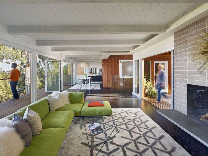 Mid Century Modern Home Renovation In Berkeley Hills, California 1